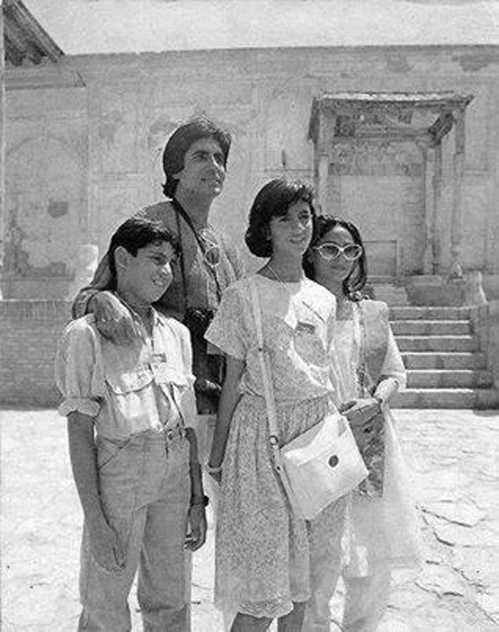 A pic from the Bachchans' family holiday