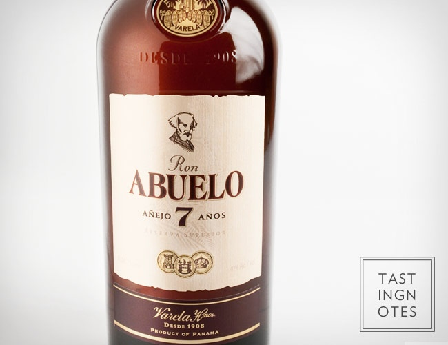 Ron Abuelo 7 Anos Rum from Panama