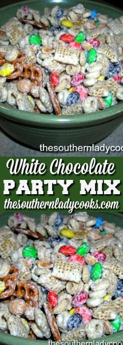 Party Mix is a favorite in our house.  We make it all the time.  This party mix recipe is one that my daughters make every year at Christmas.  We all spend Christmas Eve at the …