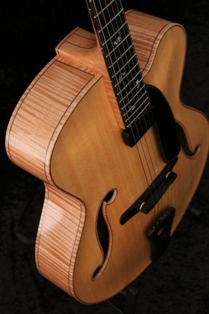 "Handmade 17"" Archtop Guitar"
