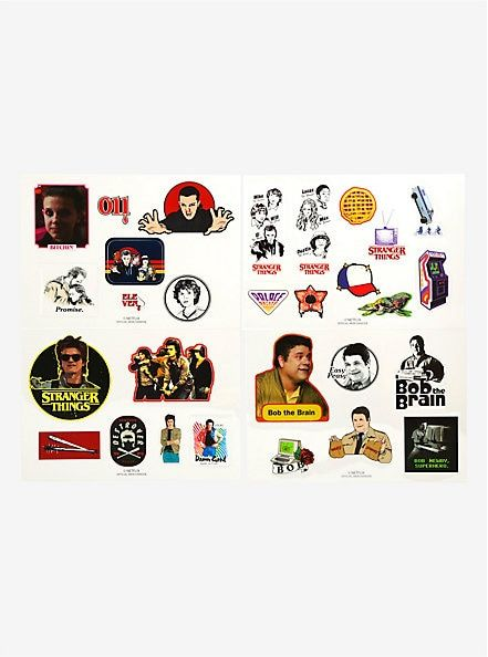 Stranger Things 2 Tech Stickers In 2019 Stranger Things