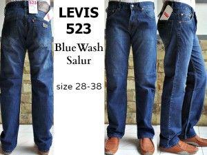 LEVIS 511 SLIMFIT Man BlueWash  harga eceran  Rp. 140.000 / celana (1 -2 pcs ) harga grosir Rp 120.000 /celana (3 pcs atau lebih) belum termasuk ongkir celana LEVIS 523 BlueWashed Salur  bahan jeans warna blue wash ukuran 28-38 Pemesanan via SMS Anda dapat melakukan pemesanan melalui SMS dengan format sebagai berikut:  Nama | Alamat Lengkap | Produk Yang Dipesan | Jumlah Pesanan  kirim ke 085701111960 pengiriman dari jakarta.