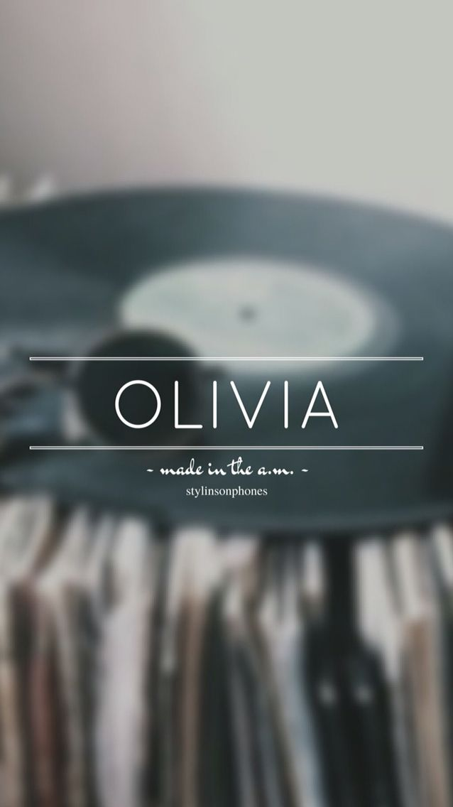 Olivia • Made In The A.M. Lockscreen — ctto: @stylinsonphones