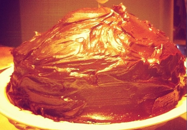 Devils Chocolate Cake from Nigella. A recommendation and so easy to make!