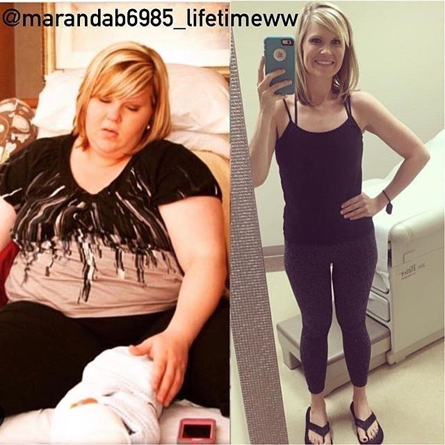 Meet @marandab6985_lifetimeww: Hi I'm Maranda & I use my Instagram to post all my meals to keep me accountable!!!! I've lost 166 pounds on weightwatchers all naturally!!! I've tried every pill shot wrap & shake known to man to lose weight in the past and nothing worked. After having my baby I started weight watchers at home with my old books & lost about 30 pds before I felt comfortable enough to rejoin the meetings. I lost 121 pds with simply filling and then I swapped to smart points. I…