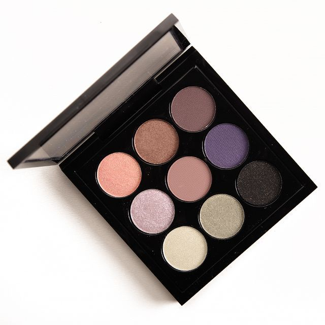 MAC x Tinashe Eyeshadow x 9 Palette MAC x Tinashe Eyeshadow x 9 Palette ($40.00 for 0.18 oz.) is an interesting mix of lighter pastel greens and purples with a few neutral shades thrown in. It's decen