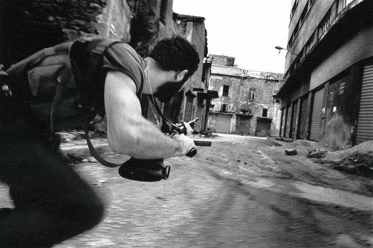 Raymond Depardon. Christian Falangist 1978 Beirut, Lebanon