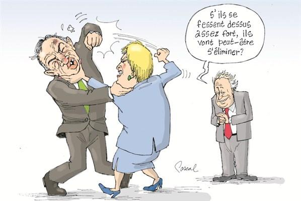 Caricature du jour - Mercredi 29 août (© Pascal Elie)