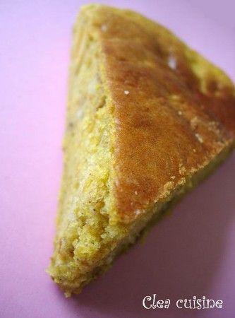 Gâteau d'automne : pommes, noix et potimarron