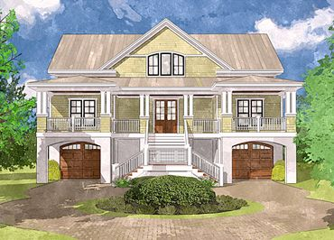 #1 Plan to consider - Coastal Home Plans - Rockport Harbor