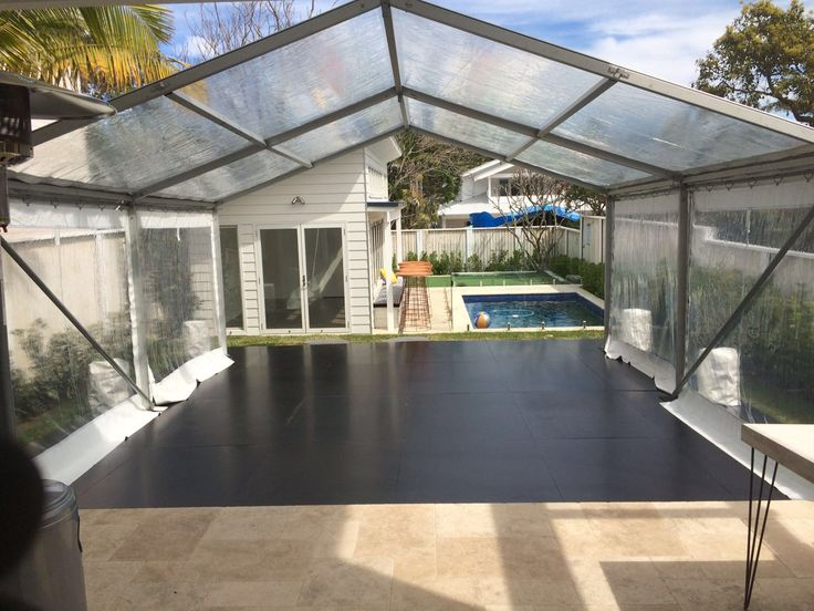 CLEAR ROOF 6M X 6M MARQUEE ON CLEAR SPAN FRAME - CALL US ON 9938 5599 FOR A QUOTE http://www.avapartyhire.com.au/