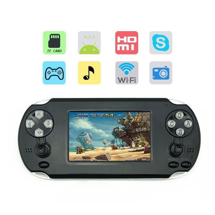 43.67$  Buy here - http://alie4c.shopchina.info/go.php?t=32802717577 - Tlex Ulike Android 4.1 3.5inch WiFi Console Support for PSP PS1 N64 GBA GBC NES SENS Games with Touch Screen 1080P HDMI  #aliexpress