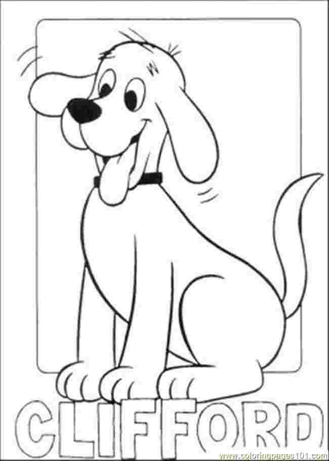 Clifford Big Red Dog Coloring Pages In 2020 Dog Coloring Page Animal Coloring Pages Halloween Coloring Pages