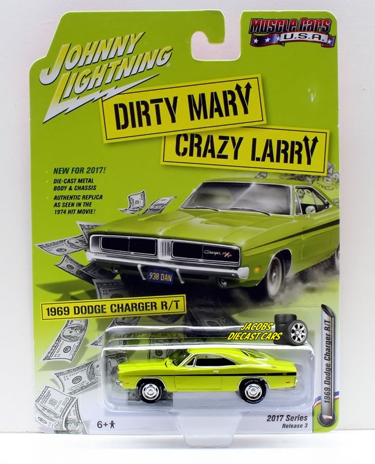1:64  JOHNNY LIGHTNING 2017 MUSCLE CARS USA RELEASE 3A - 1969 DODGE CHARGER R/T #JohnnyLightning #Dodge