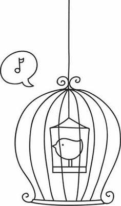 Dê Cores ao seu Canário | Ouça Marisa Monte: https://www.youtube.com/watch?v=Xyungwif2Xk | <º))))>< Dibujos para colorear ><((((º>
