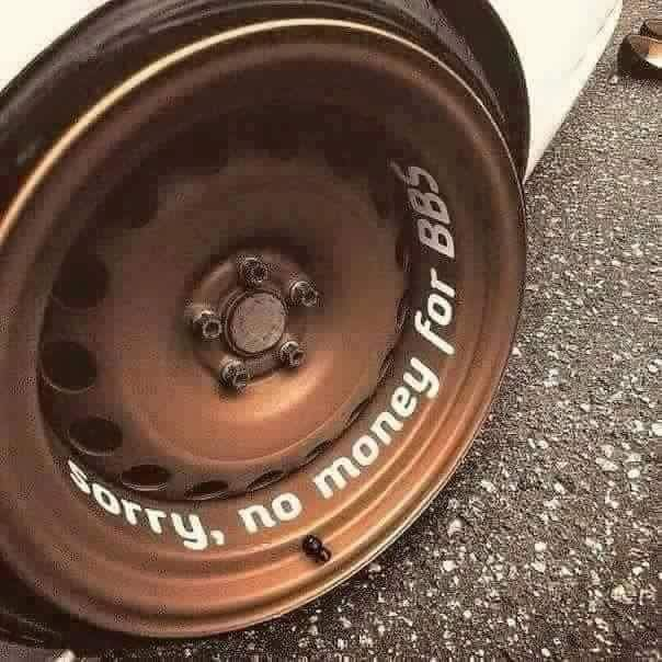 #Wheels #No_Money_For_BBS #Rims