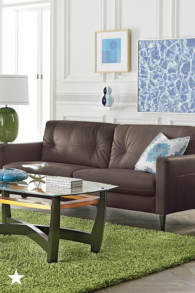 Keaton Leather Sofa Collection, Created For Macyu0027s