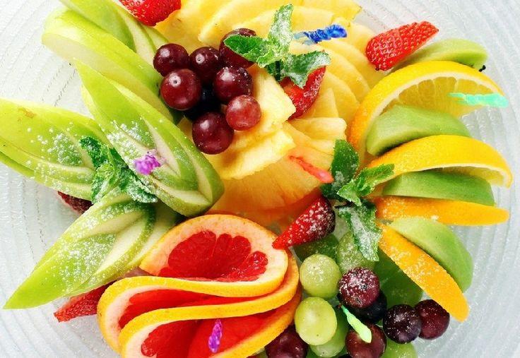 Вкусно и оригинально! Фруктовая нарезка, фруктовый карвинг — фото идеи