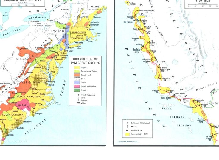 Colonial America 1770 Maps Colonial America The Fiery