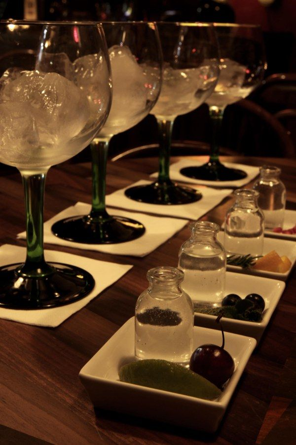 London Gin Club - Our tasting menus are a great way to try gin and tonics you may not have come across before with new gins selected every three months