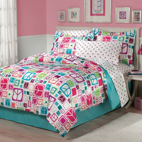 love this for Mad's room!Dreams Bedrooms, Bedrooms Desire,  Comforters, Girls Bedrooms, Bags Beds,  Puff, Bedding Sets, Beds Sets, Bedrooms Ideas