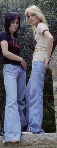 Cherie Currie & Joan Jett