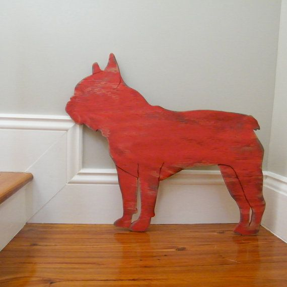 French Bulldog Large Size Oversized Frenchie by SlippinSouthern, $79.00