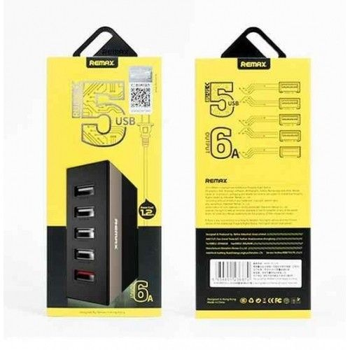 Remax Ming 5USB RU-U1 Black купить в Киеве. Заказать Remax Ming 5USB RU-U1 Black…