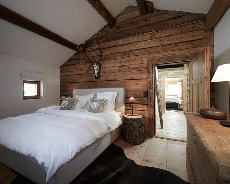 Schlafen wie in einer modernen Jagdhütte