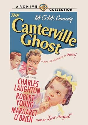 The Canterville Ghost (Full Screen) DVD-R (1944) Starring Charles Laughton, Reginald Owen & William Gargan; Directed by Jules Dassin; Starring Margaret O'Brien & Robert Young; Warner Archives Collection : OLDIES.com