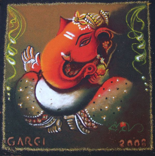 Sri Ganesh Diwali Rangoli
