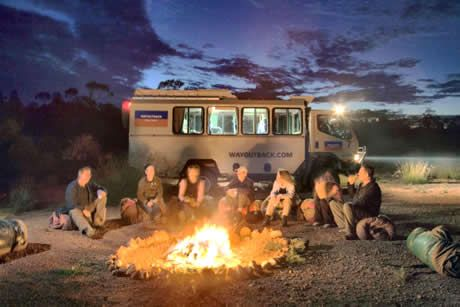 camping with way outback