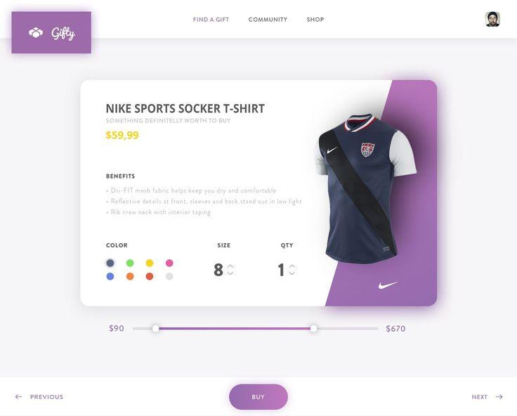 Nike Sport soccer t-shirt single product