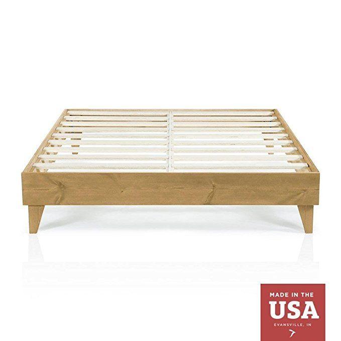 Wood Platform Bed Frame California King Size Cal King Modern Wooden Design Solid Wood Wood Platform Bed Frame Cheap Bed Frame California King Bed Frame