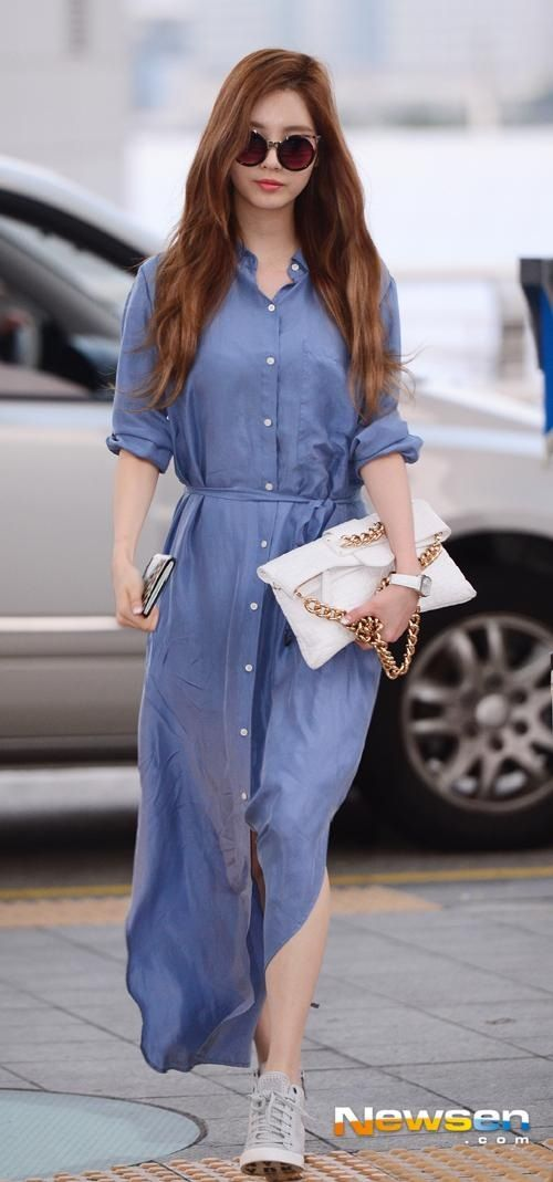 140807 Snsd Seohyun at ICN Airport to LA