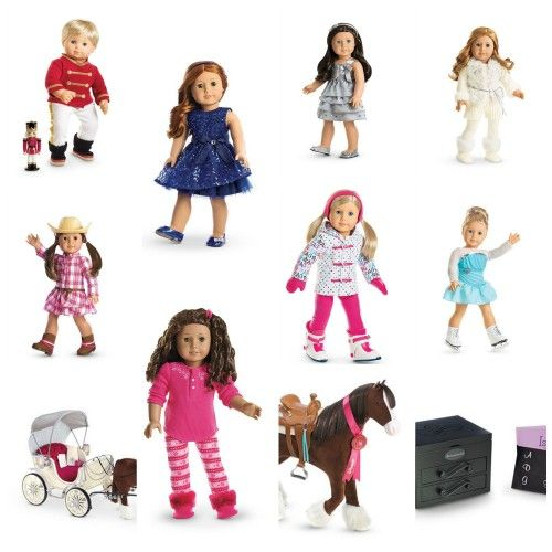 New American Girl Holiday Collection for 2014