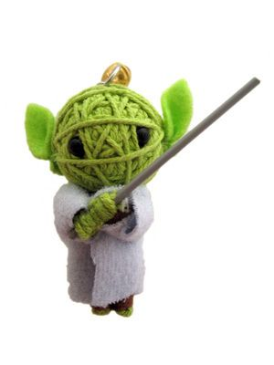 Green Warrior String Doll