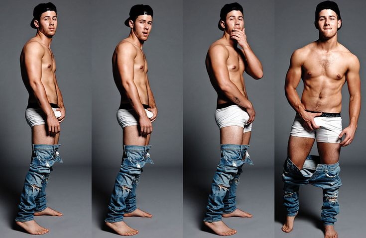 Nick Jonas Channels Marky Mark, Wears Tight Undies and Grabs Crotch in Shirtless Flaunt Pics | E! Online Mobile