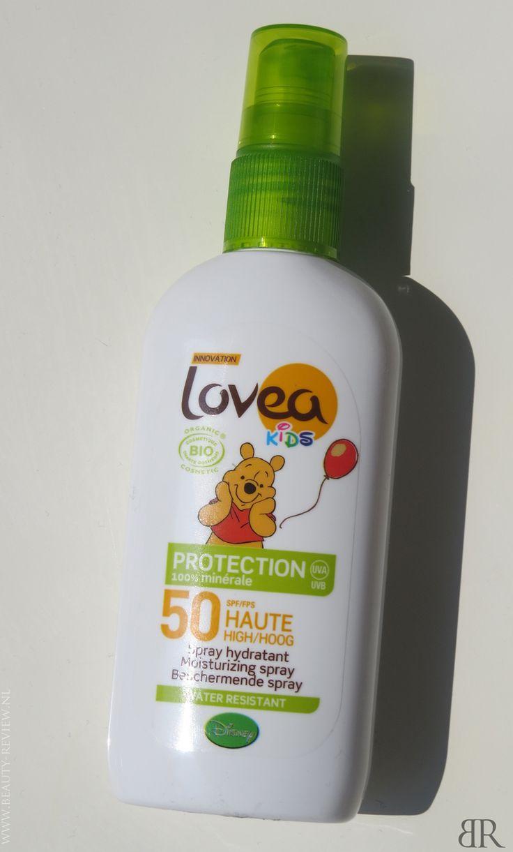 Lovea Bio Spray Kids SPF 50 voorkant