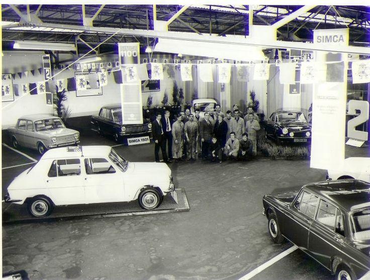 Garage simca chrysler car pinterest for Garage automobile paris 12