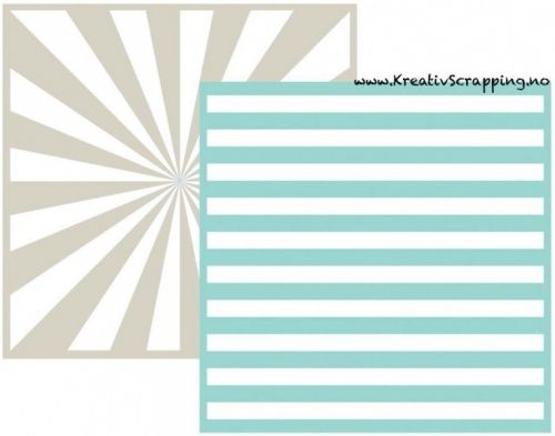 WE R - EMBOSSING FOLDER GOOSEBUMPZ 3717 - STRIPE Embossing folder fra WE R MEMORY KEEPERS. Måler 6x6 inch. We R Memory Keepers-Goosebumpz Embossing Folder. Give your paper crafts a unique look! Embosses with most die-cutting tools. This package contains two 6x6 inch embossing folders. Comes in a variety of designs. Each sold separately.