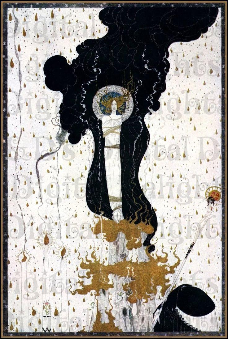 Rare. JOAN of Arc. Kay NIELSEN. Art DECO Vintage Illustration. Digital Download