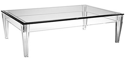 lamb & blonde: Lucite Coffee Table Lust  DuBarry Lucite Table <3