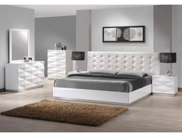 Largest Bedroom Sets Collection Verona Set In White Lacquered Finish J M Furniture Offers A Fresh Aim And Outlook Of The Modern