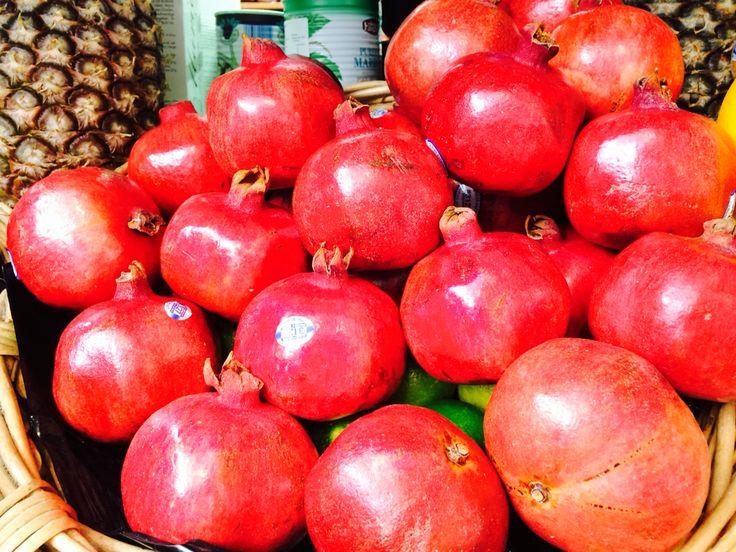 Pomegranate! Beautiful & Colorful! Nutrient Dense!