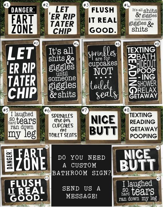 kids bathroom sign diy funny bathroom signs wall decor kids etsy signs decor bathroom