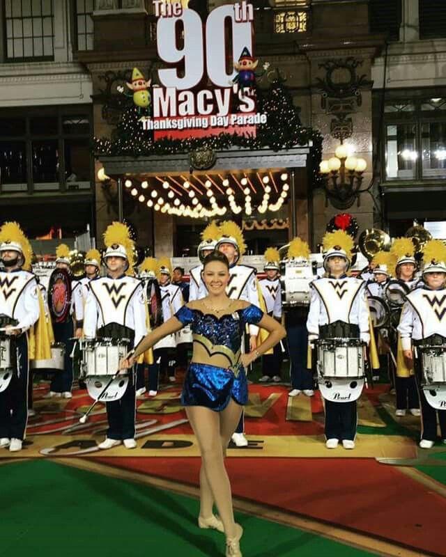 WVU Marching Band at Macy's Thanksgiving Parade! November 24, 2016