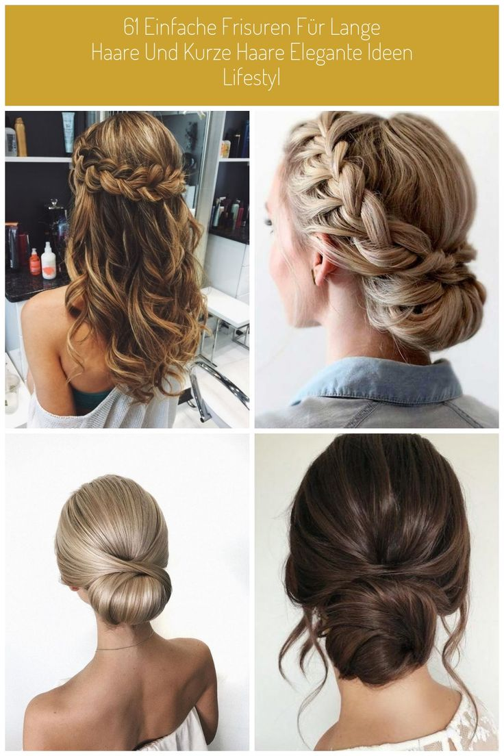 - 61 einfache frisuren für lange haare und kurze haare