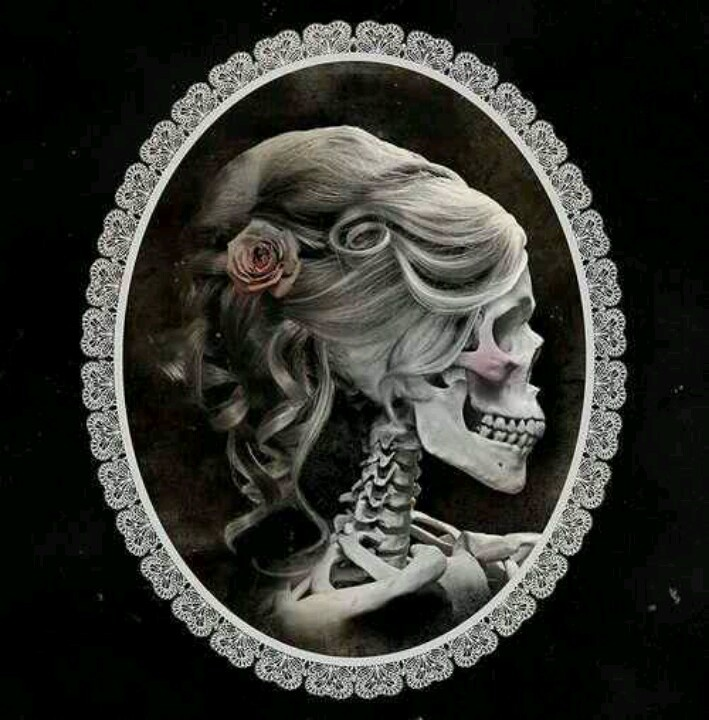 Skull Lady Cameo | Skull | Pinterest | Brooches
