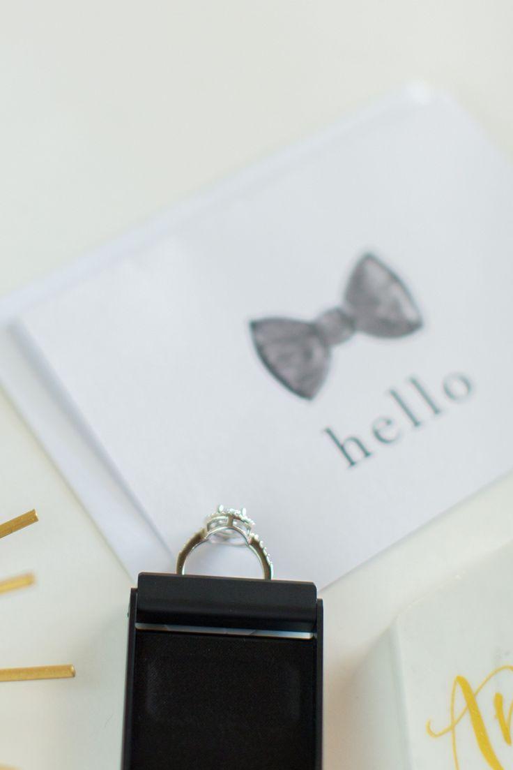 The worlds slimmest engagement ring box! PC:@andreaelizabethpage
